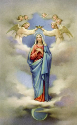 virgin Different image mary