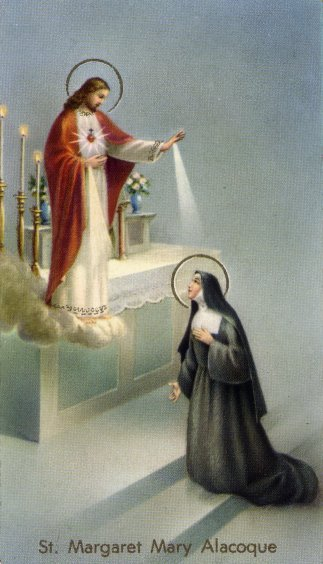 saint margaret mary alacoque marypages